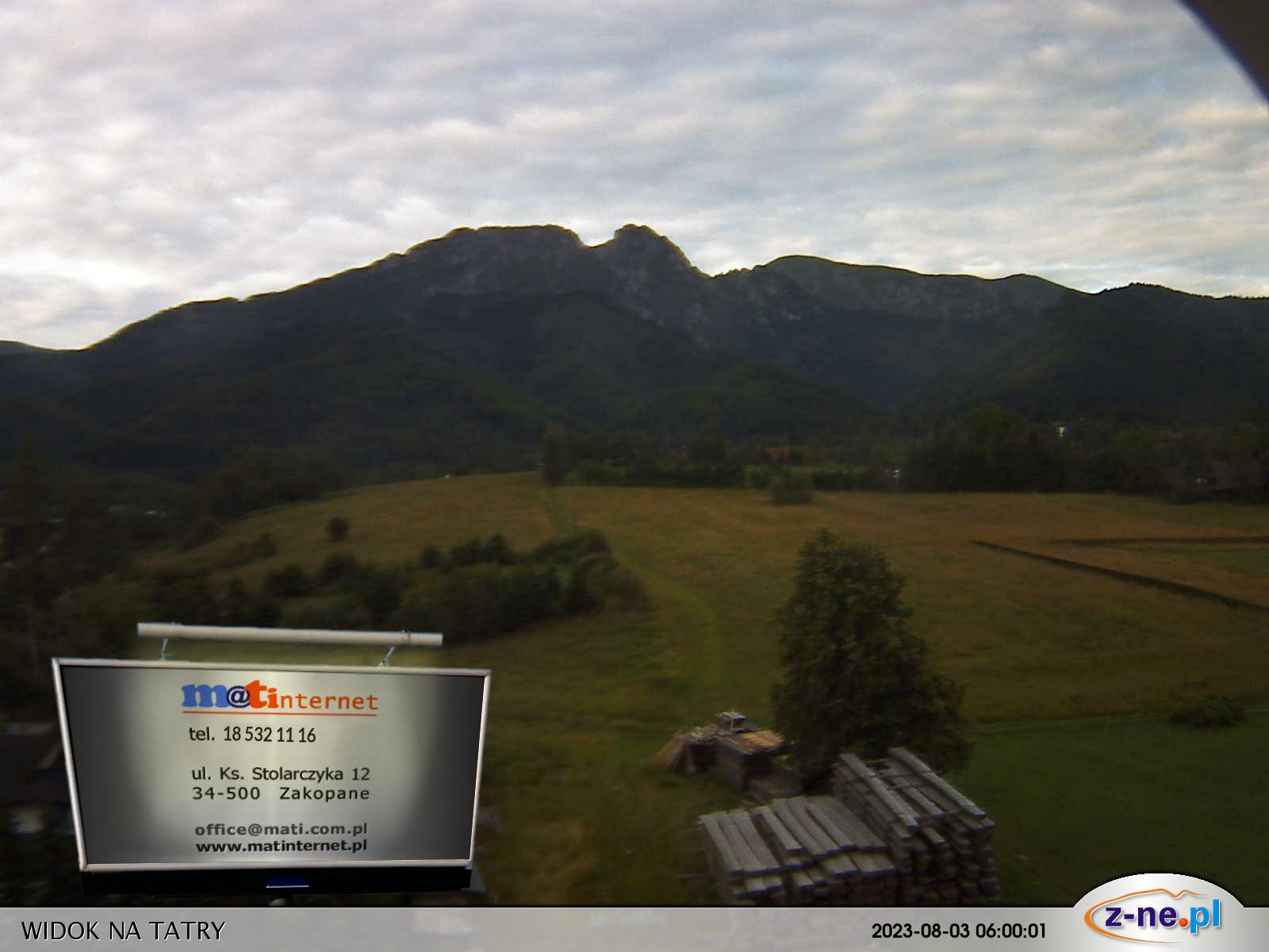 Magas Tátra nagyméretű Élő Webkamera