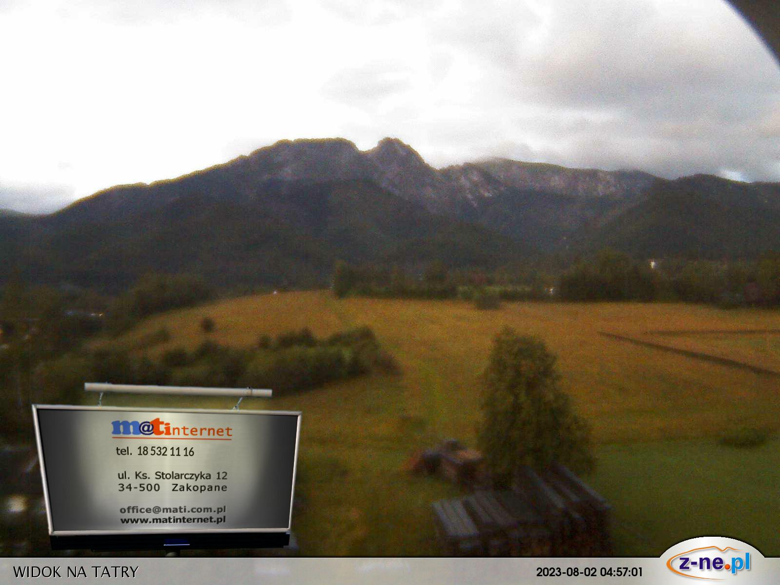 Webcam Ski Resort Zakopane High Tatras